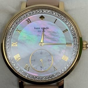 Kate Spade Mother of Pearl Abalone Shell Watch NWT